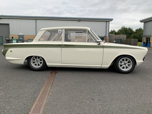 Lotus Cortina FIA Historic Race Car