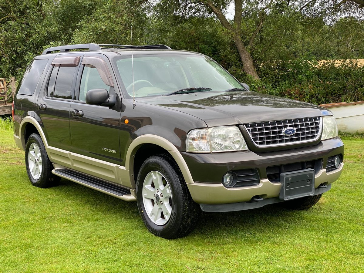 2005 FORD EXPLORER 4.6 EDDIE BAUER AUTOMATIC * 7 SEATER 4X4 For Sale (picture 1 of 6)