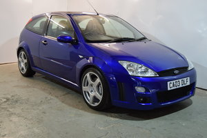 2003 Ford Focus RS MK1, Just 19532 Miles, Completely Original... SOLD