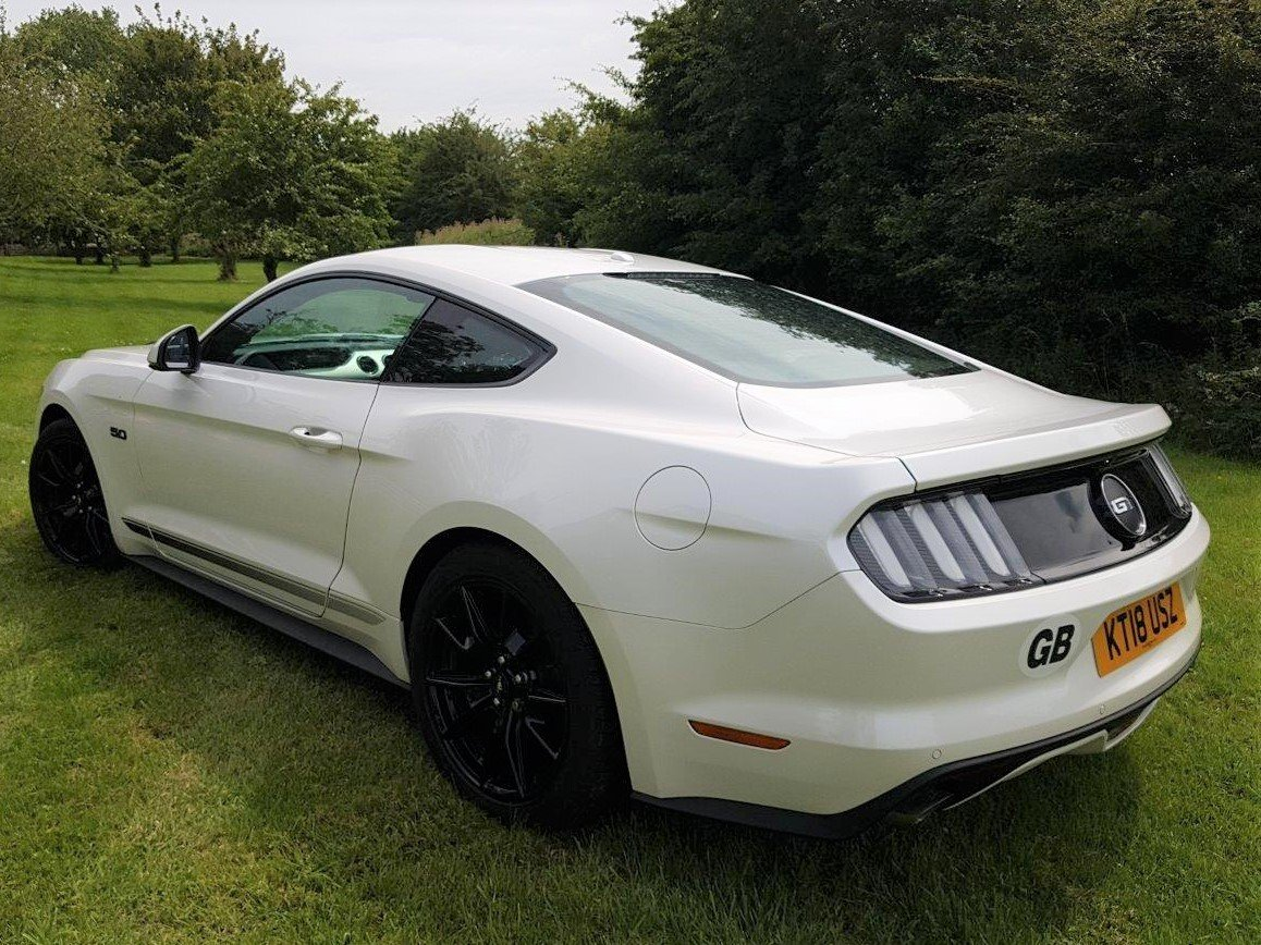 2018 Mustang 5.0i V8 GT Auto Fastback SHADOW EDITION SOLD (picture 2 of 6)