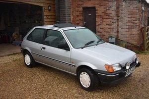 Lot 25 - 1990 Ford Fiesta MkIII 1600S - 29/07/20