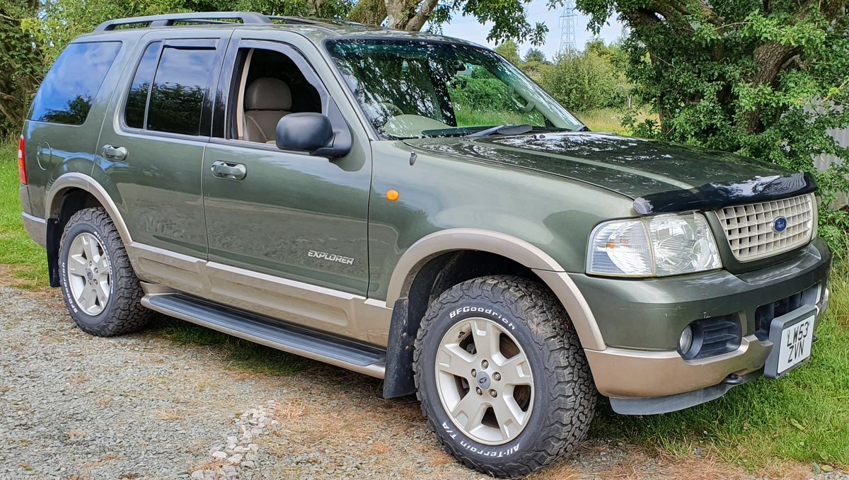 2004 04 Ford Explorer 4.6 V8 Eddie Bauer Auto 7 seats 60k New Mot SOLD (picture 1 of 6)