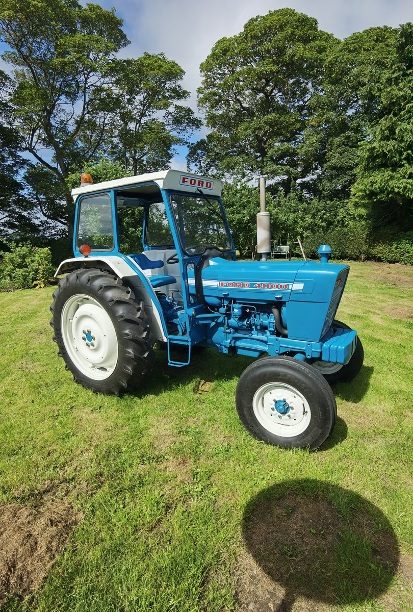 1971 Ford 4000 tractor For Sale (picture 1 of 5)