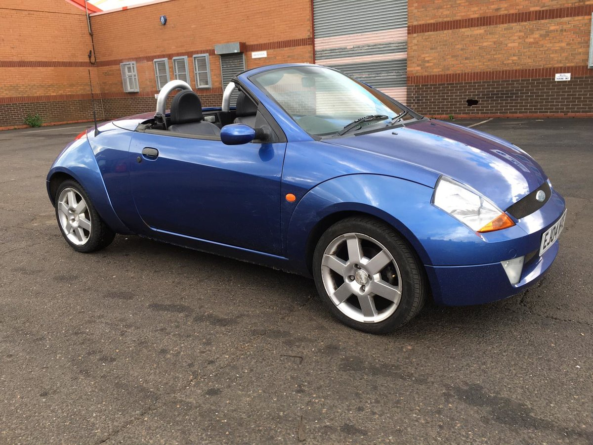 2004 Ford StreetKA Convertible Soft top 1600 petrol manual For Sale (picture 1 of 6)