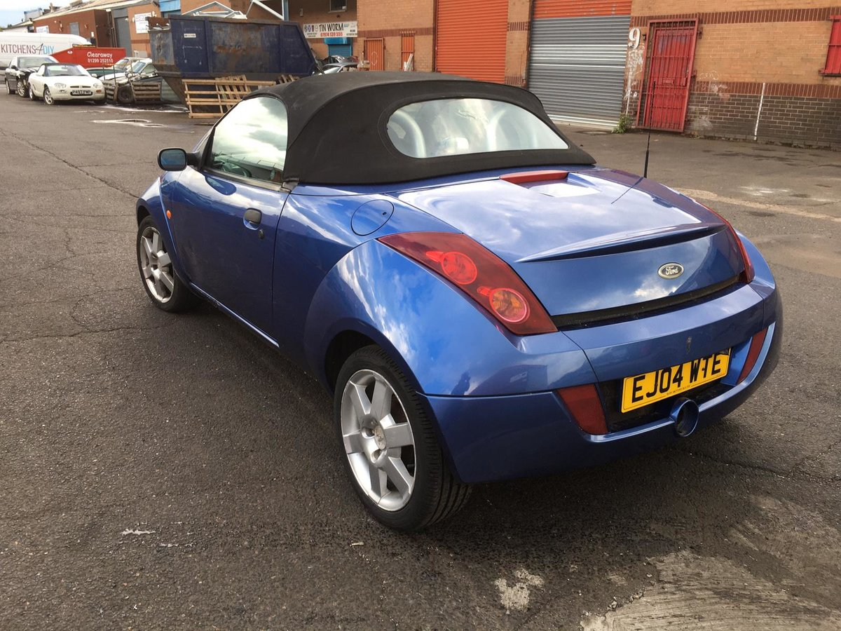 2004 Ford StreetKA Convertible Soft top 1600 petrol manual For Sale (picture 3 of 6)