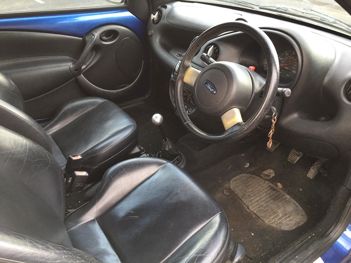 2004 Ford StreetKA Convertible Soft top 1600 petrol manual For Sale (picture 6 of 6)