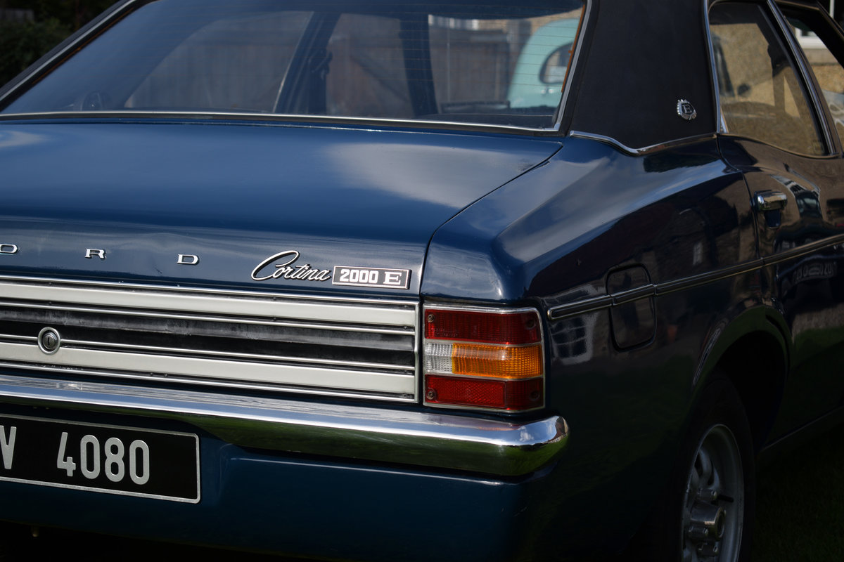 1974 FORD CORTINA 2000E - MEGA RARE NOW, LOVELY EXAMPLE! For Sale (picture 2 of 6)