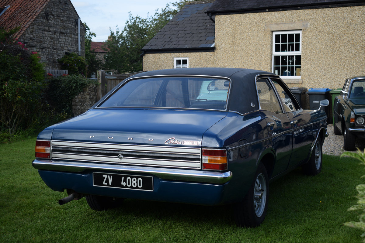 1974 FORD CORTINA 2000E - MEGA RARE NOW, LOVELY EXAMPLE! For Sale (picture 3 of 6)