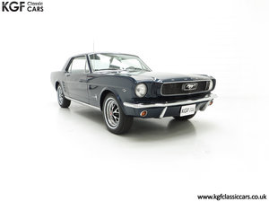 An American Icon 1966 Ford Mustang 289CID V8 Coupe SOLD