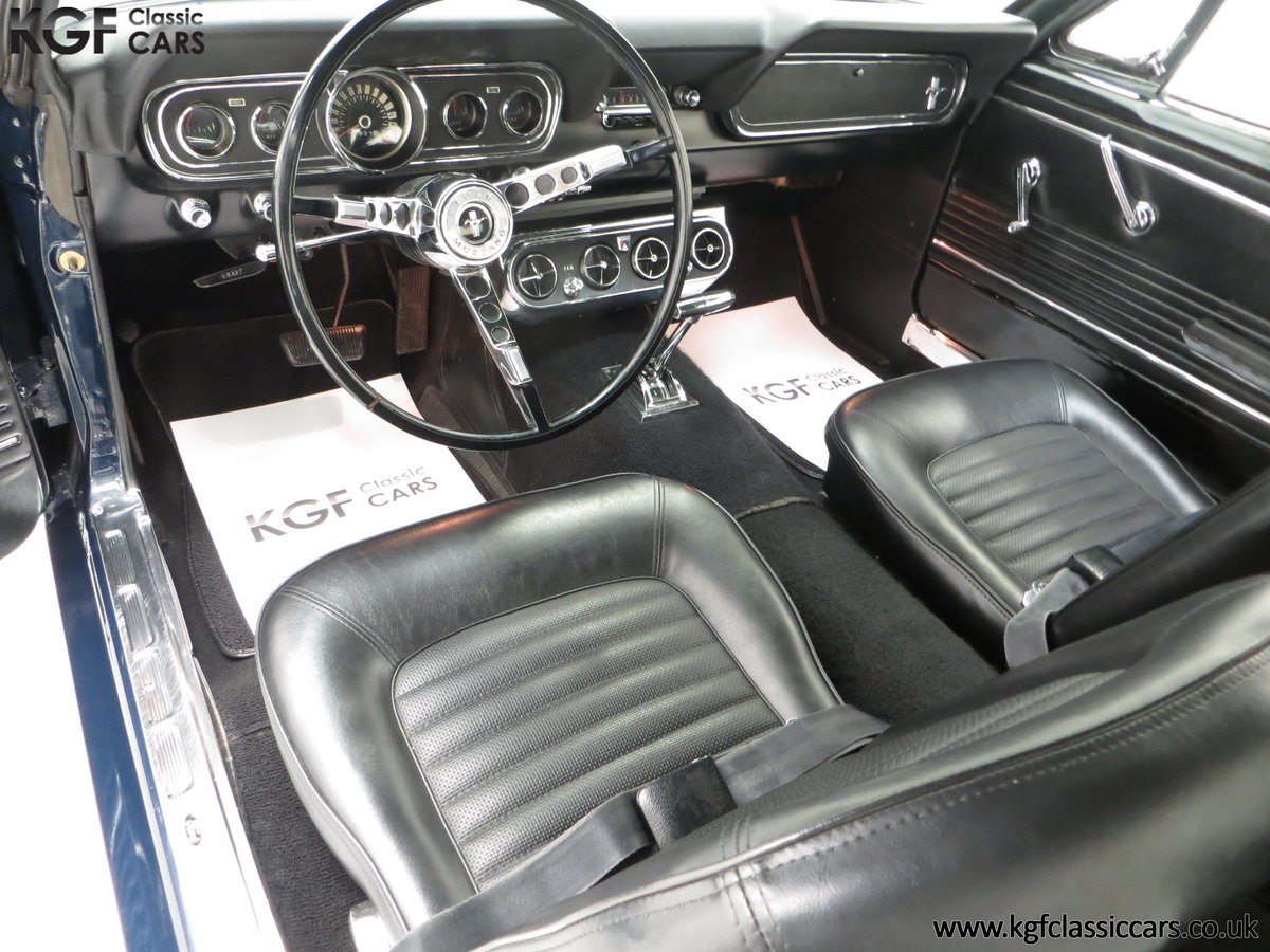 An American Icon 1966 Ford Mustang 289CID V8 Coupe SOLD (picture 18 of 24)