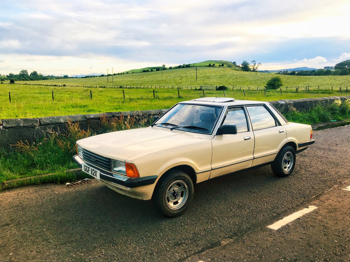 1982 Ford cortina 1.6 mk5 66k For Sale (picture 1 of 6)