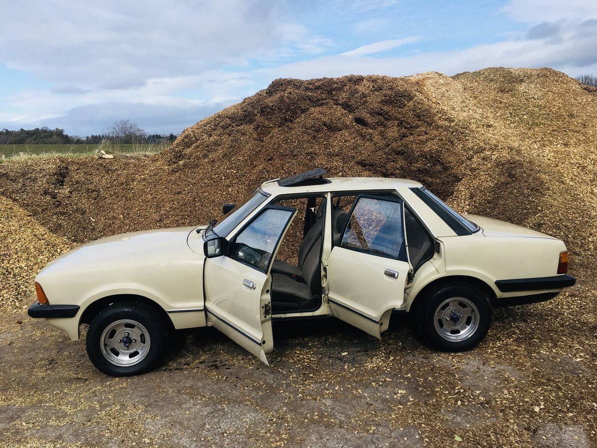 1982 Ford cortina 1.6 mk5 66k For Sale (picture 4 of 6)