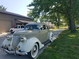 Picture of 1936 Ford Deluxe 5 window coupe (Parkersburg, IL) $29,500 For Sale