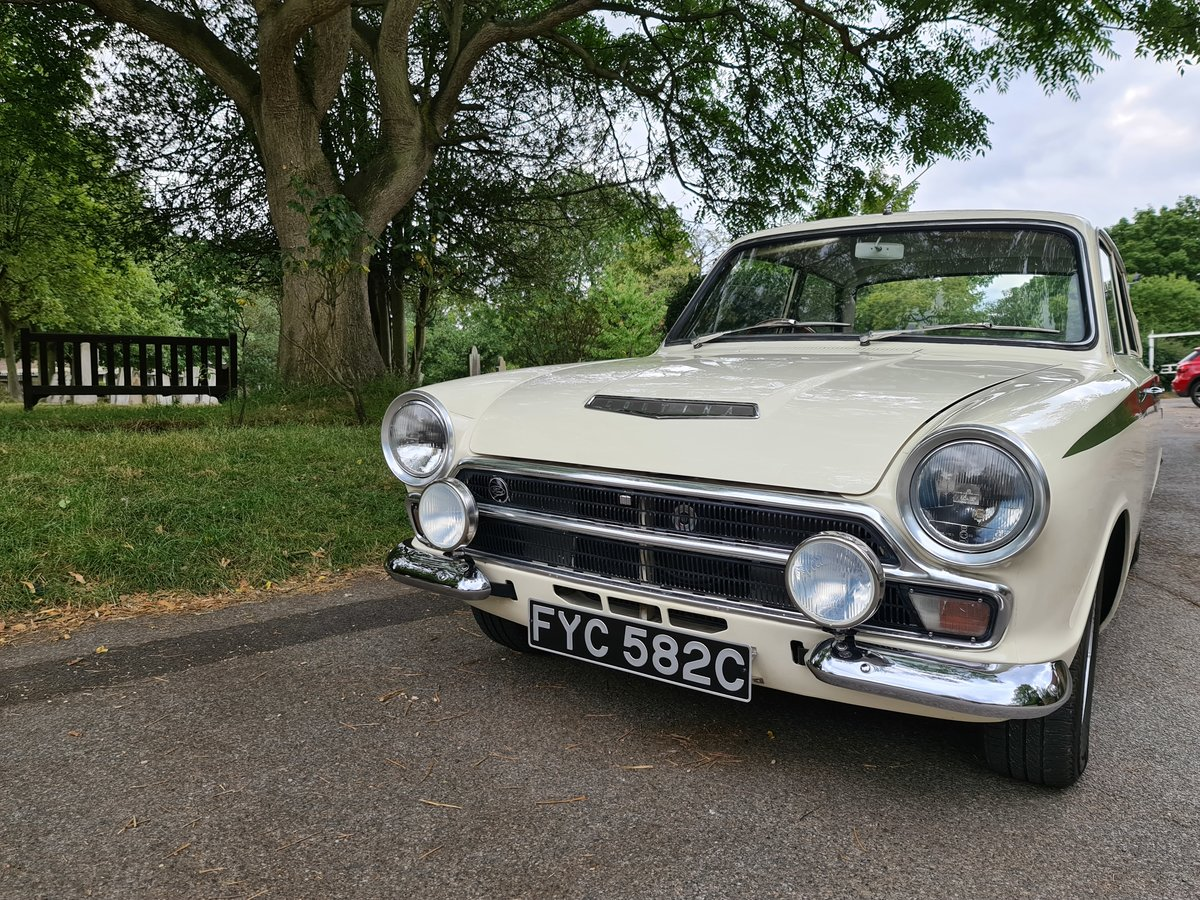 1965 Ford Cortina 1500 GT For Sale (picture 1 of 6)