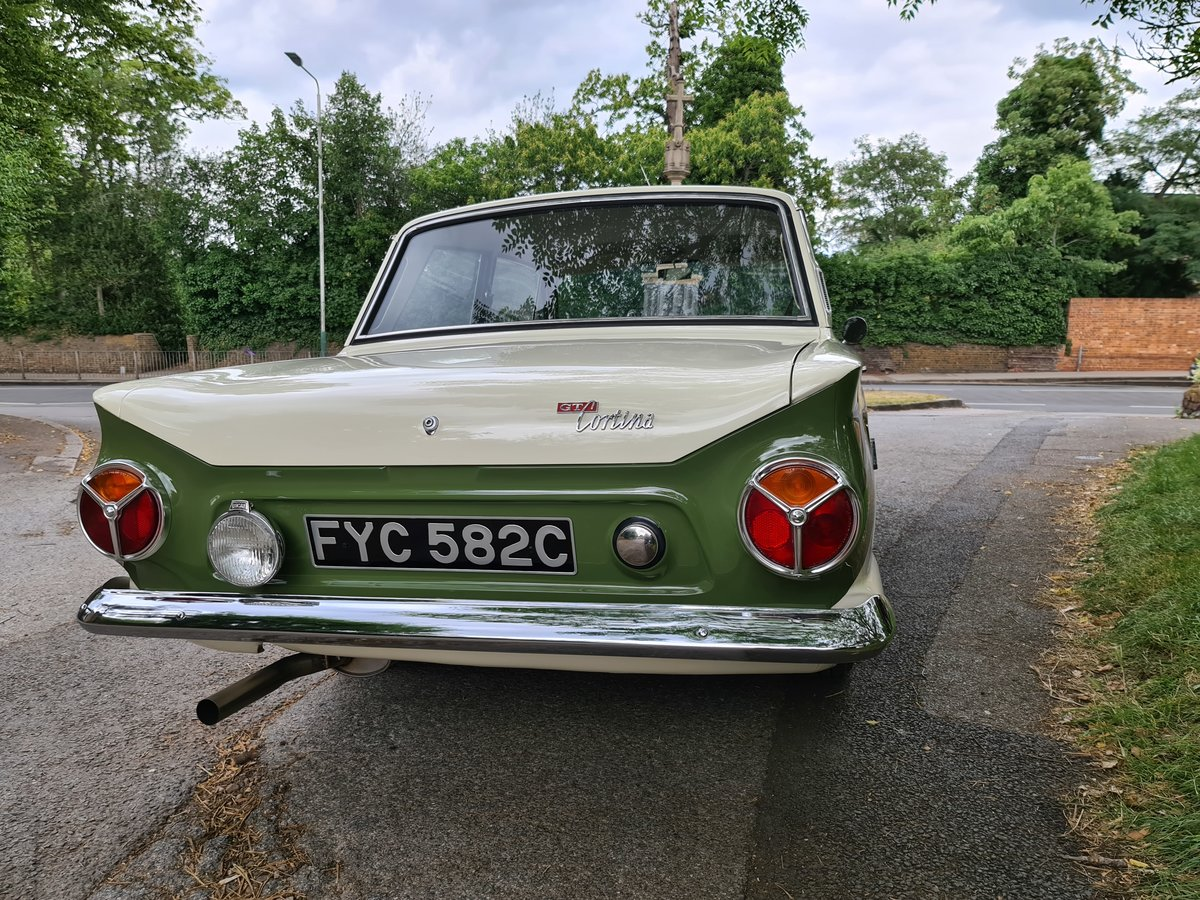 1965 Ford Cortina 1500 GT For Sale (picture 4 of 6)