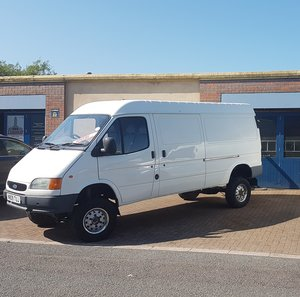 Ford County Transit 4X4 Smiley LWB Van