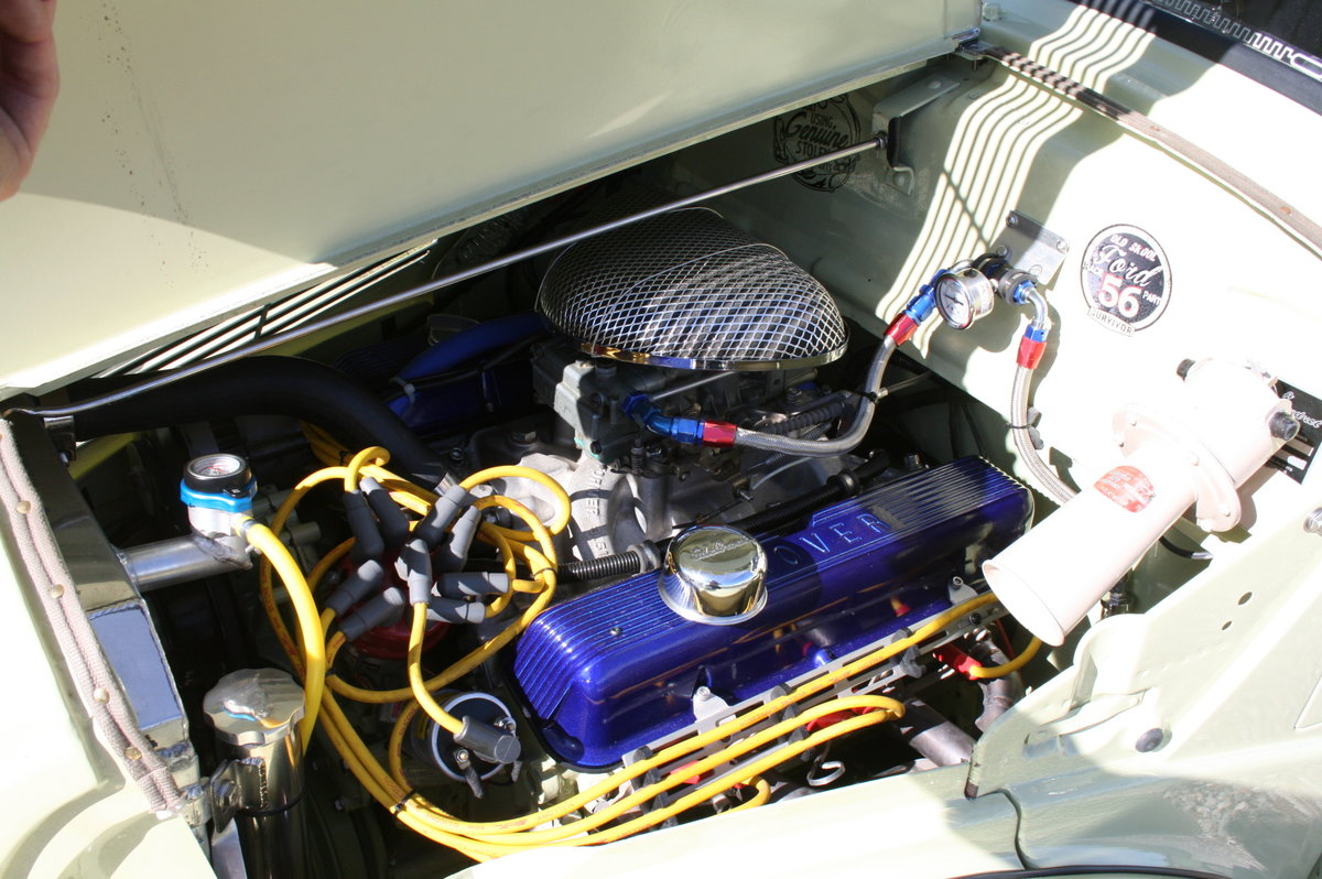1956 Ford Pop V8 Hot Rod ,Custom .Show Condition Throughout For Sale (picture 6 of 6)