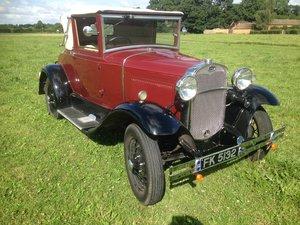 1931 Model A Cabriolet