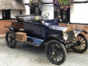 1916 Ford Model T Pickup Featured On TV Lots Of Brass SOLD