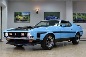 1971 Ford Mustang Fastback 351 V8 Manual | Boss Recreation