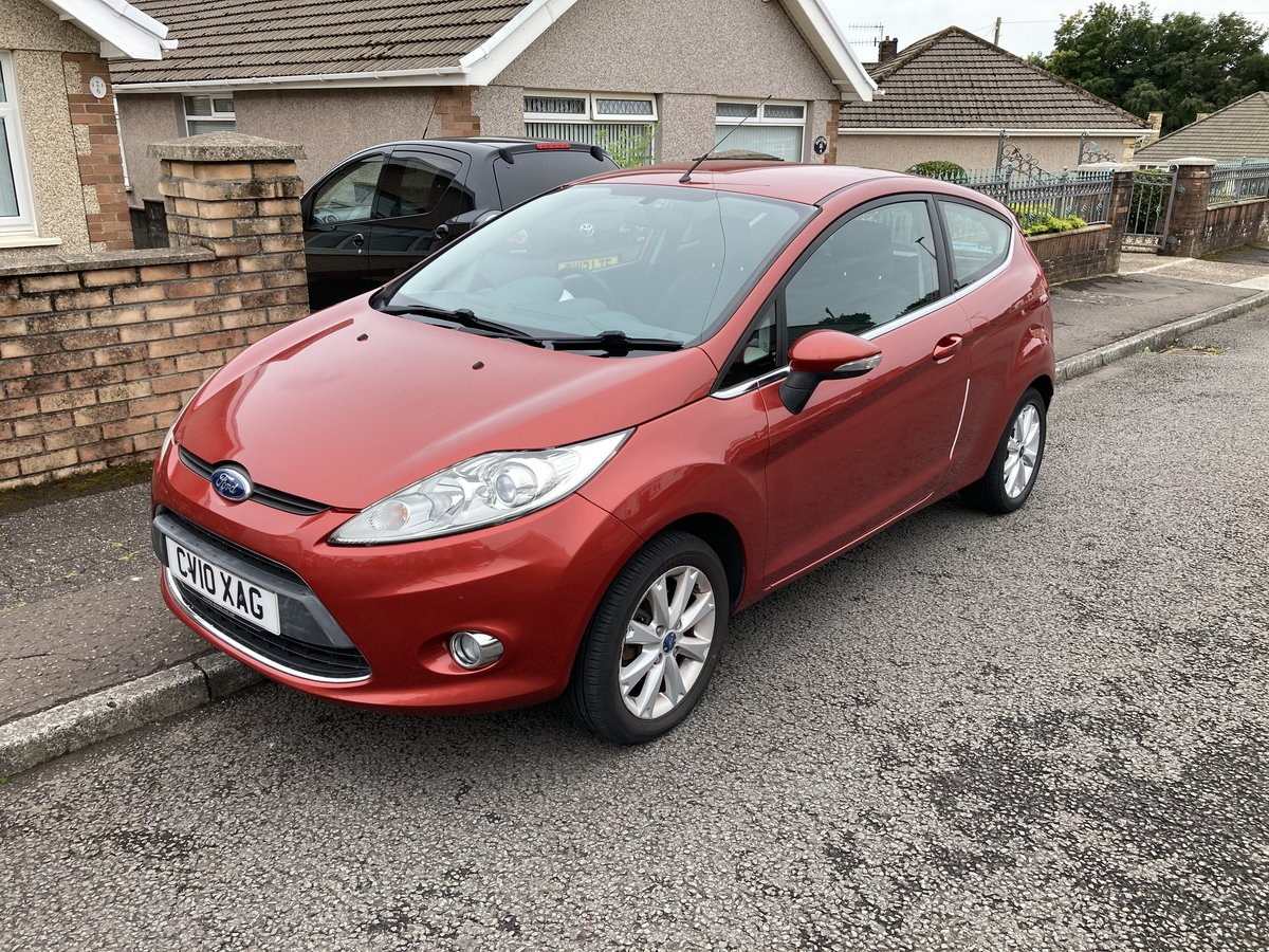2010 Ford Fiesta 10 Plate Zetec For Sale (picture 1 of 6)