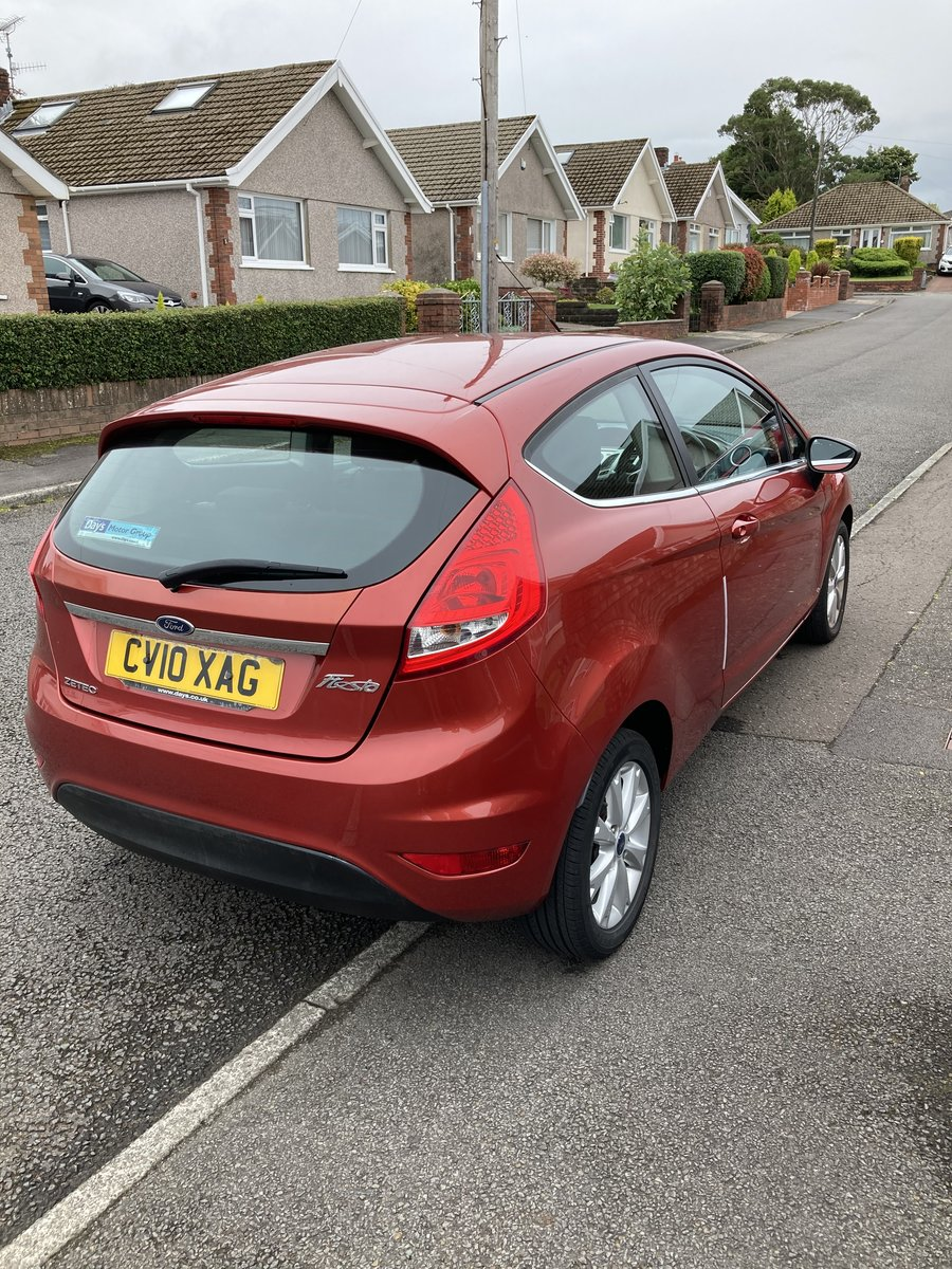 2010 Ford Fiesta 10 Plate Zetec For Sale (picture 2 of 6)
