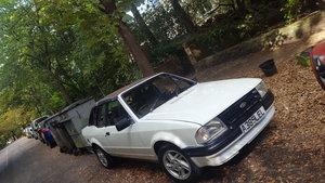 1984 Mk3 escort 1600 cab
