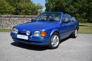 1987 87/E FORD ESCORT XR3i CABRIOLET - 78K - VERY ORIGINAL
