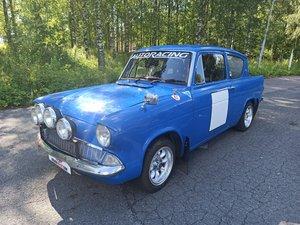 1965 Ford Anglia FIA Historic rally car