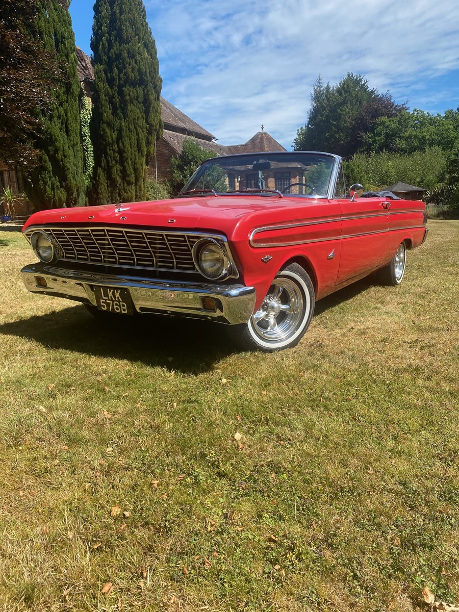 1964 Ford falcon convertible For Sale (picture 1 of 6)