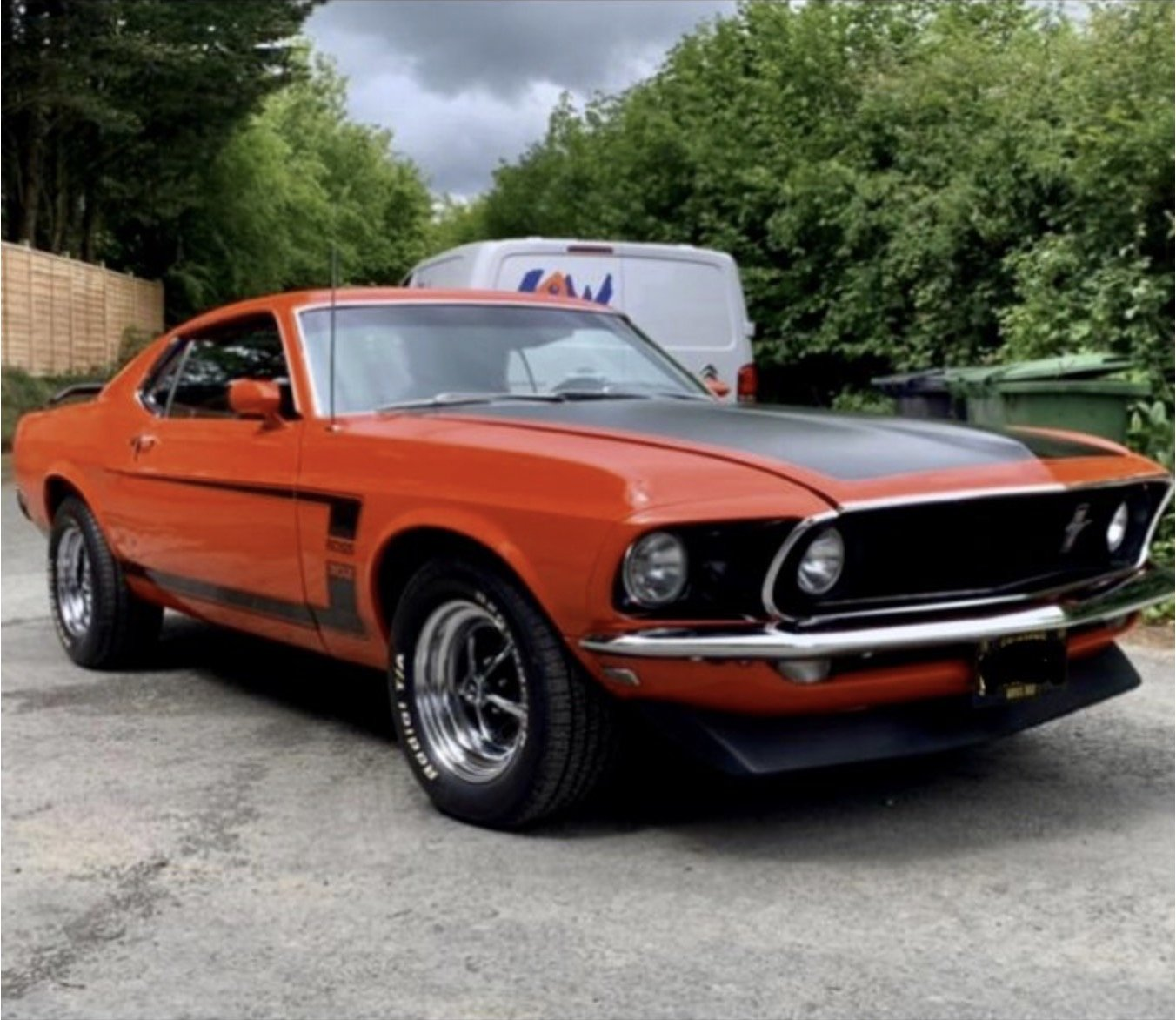 FORD MUSTANG 1969 BOSS 302 For Sale (picture 1 of 6)