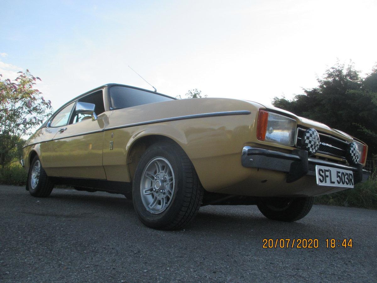 1977 Ford capri mk 11 3lt ghia For Sale (picture 2 of 6)