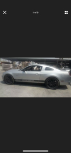 2012 FORD MUSTANG 5.0 V8 GT AUTO  LHD FRESH IMPORT For Sale