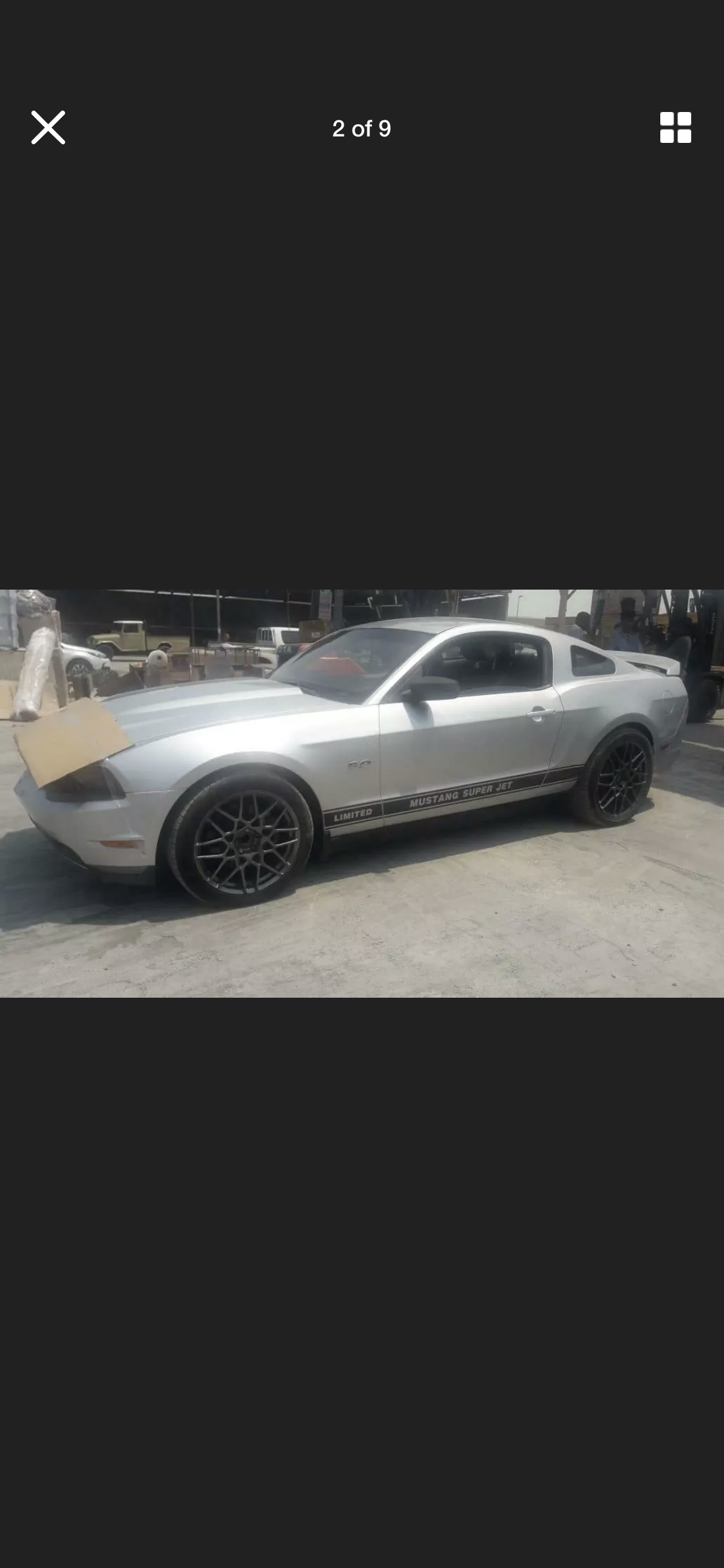 2012 FORD MUSTANG 5.0 V8 GT AUTO  LHD FRESH IMPORT For Sale (picture 2 of 6)