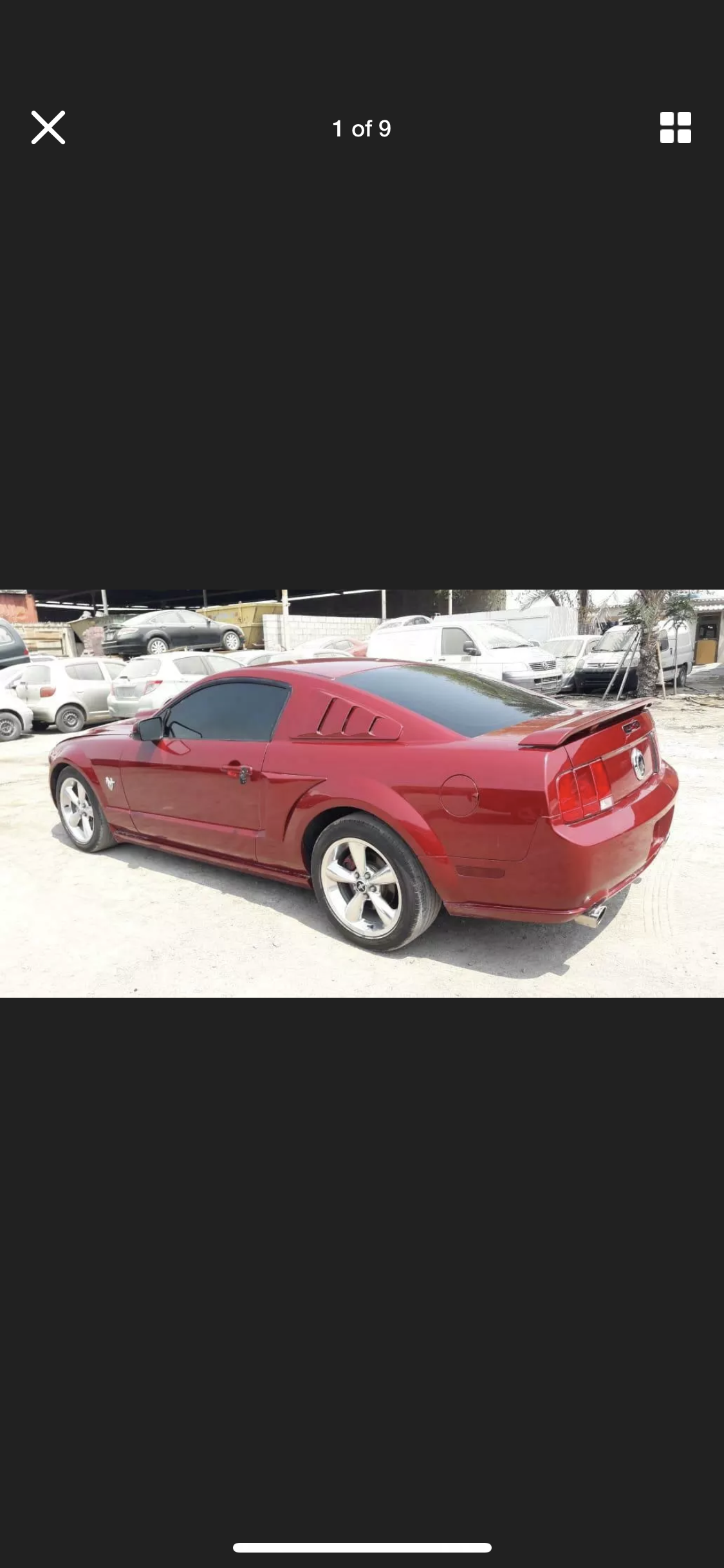 2009 FORD MUSTANG 4.6 V8 GT RARE MANUAL LHD FRESH IMPORT For Sale (picture 1 of 6)