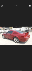 2009 FORD MUSTANG 4.6 V8 GT RARE MANUAL LHD FRESH IMPORT