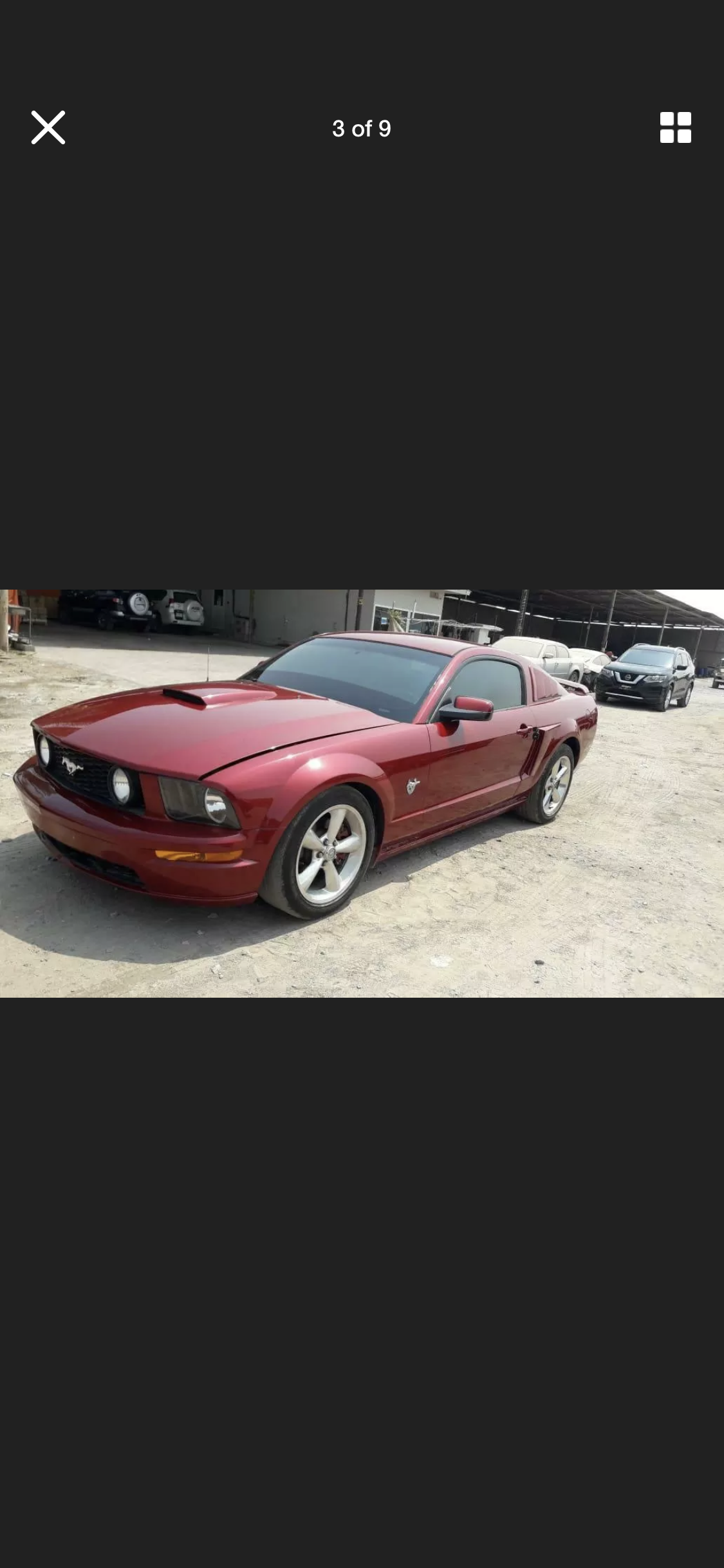 2009 FORD MUSTANG 4.6 V8 GT RARE MANUAL LHD FRESH IMPORT For Sale (picture 2 of 6)