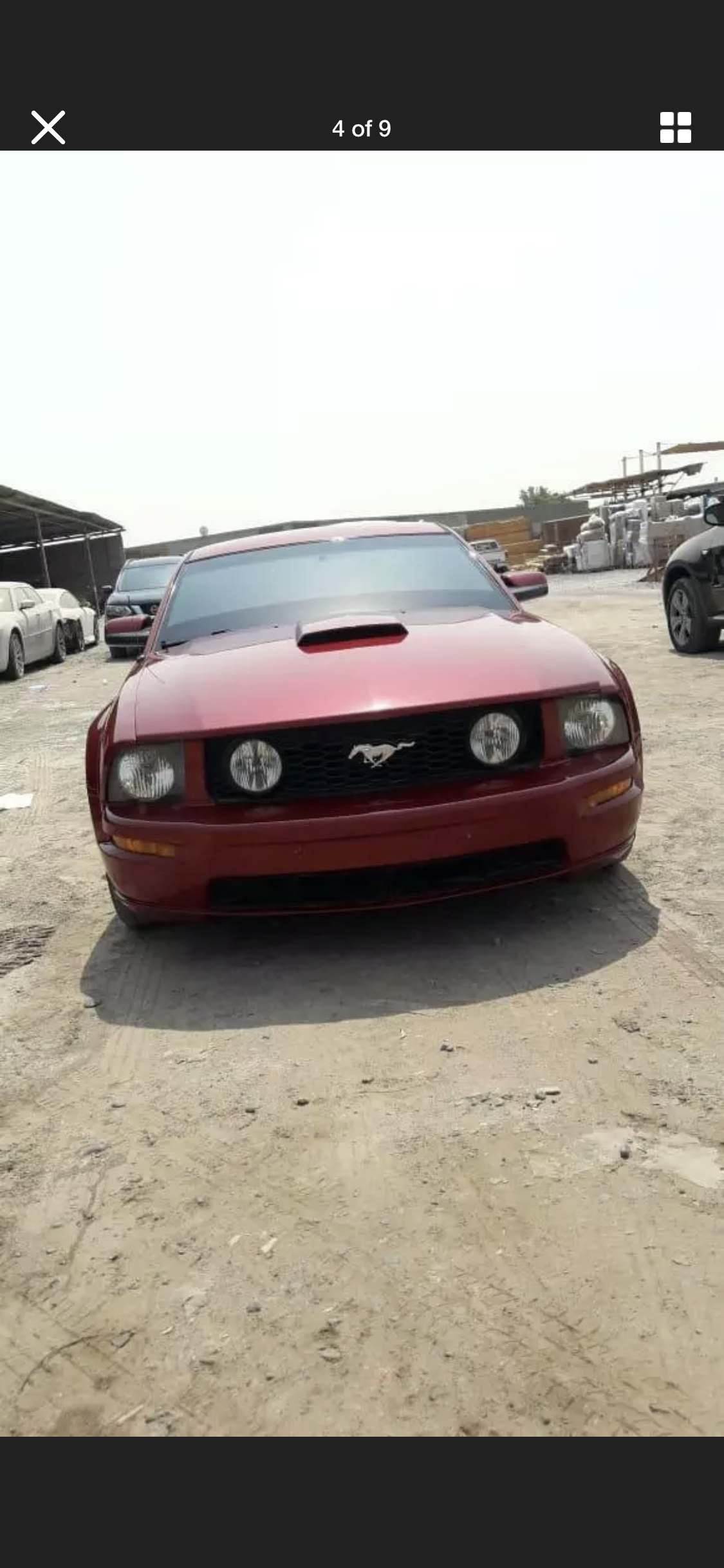 2009 FORD MUSTANG 4.6 V8 GT RARE MANUAL LHD FRESH IMPORT For Sale (picture 4 of 6)