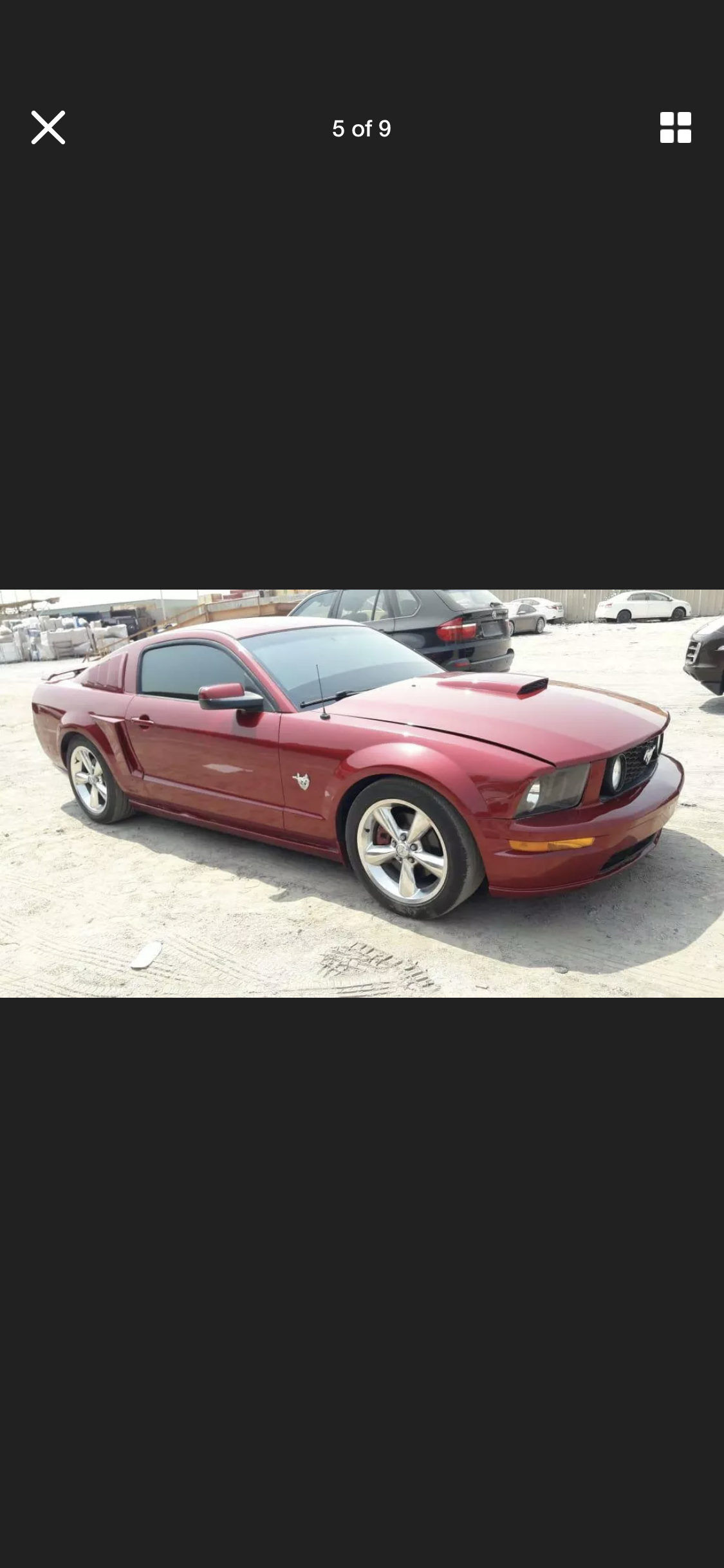 2009 FORD MUSTANG 4.6 V8 GT RARE MANUAL LHD FRESH IMPORT For Sale (picture 5 of 6)