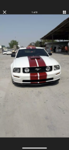 2008 FORD MUSTANG 4.6 V8 GT RARE MANUAL  LHD FRESH IMPORT