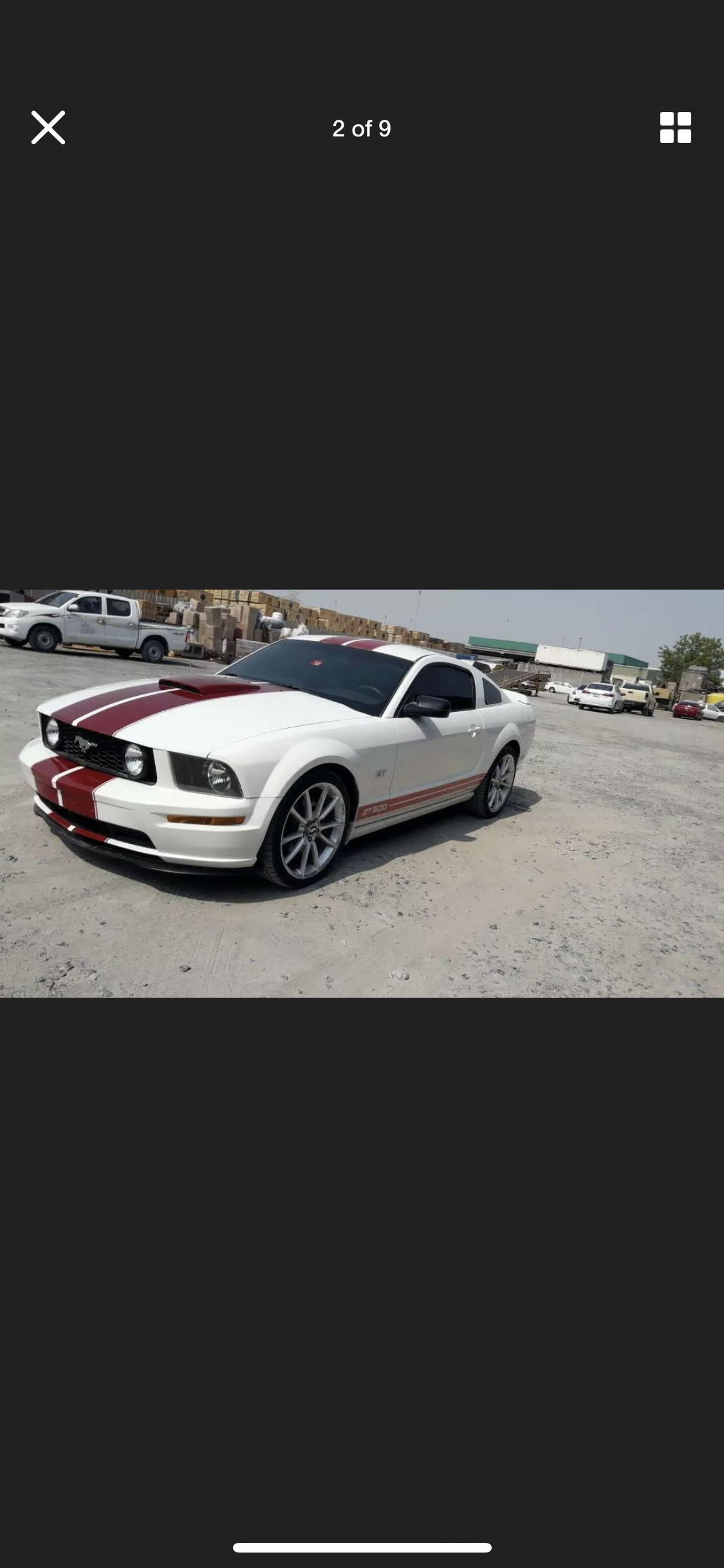 2008 FORD MUSTANG 4.6 V8 GT RARE MANUAL  LHD FRESH IMPORT For Sale (picture 2 of 6)