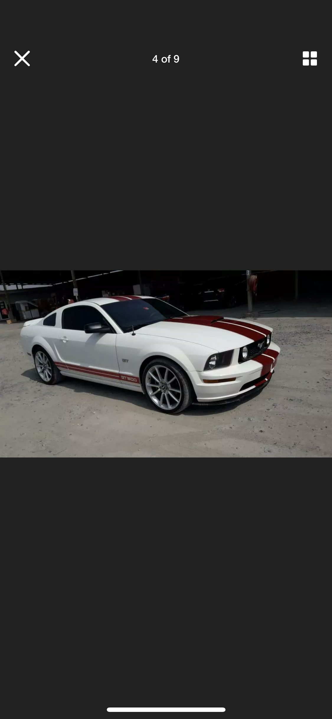 2008 FORD MUSTANG 4.6 V8 GT RARE MANUAL  LHD FRESH IMPORT For Sale (picture 4 of 6)