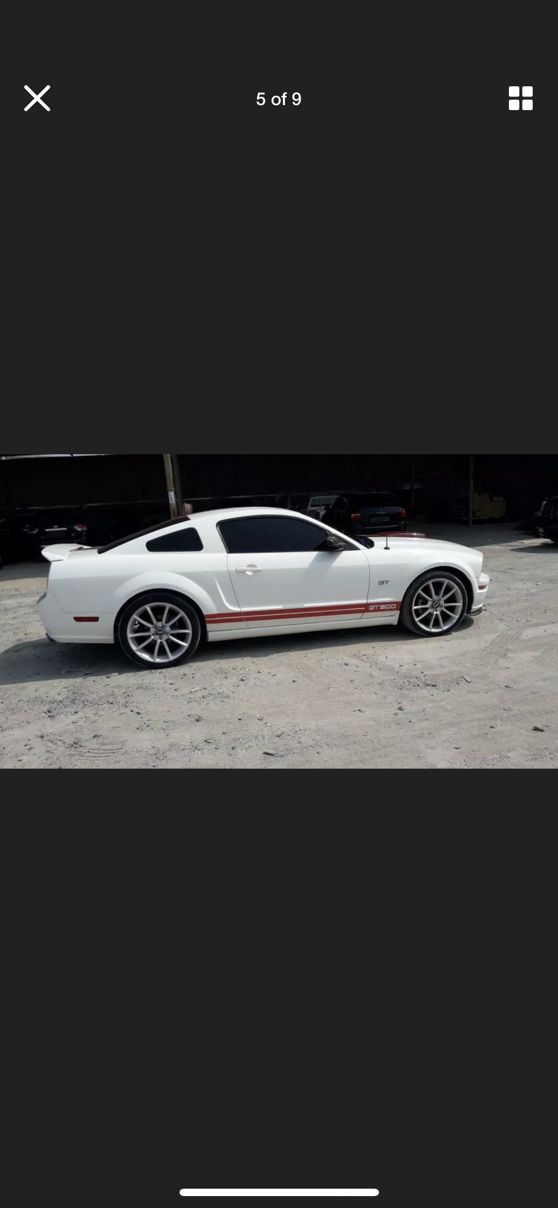 2008 FORD MUSTANG 4.6 V8 GT RARE MANUAL  LHD FRESH IMPORT For Sale (picture 5 of 6)