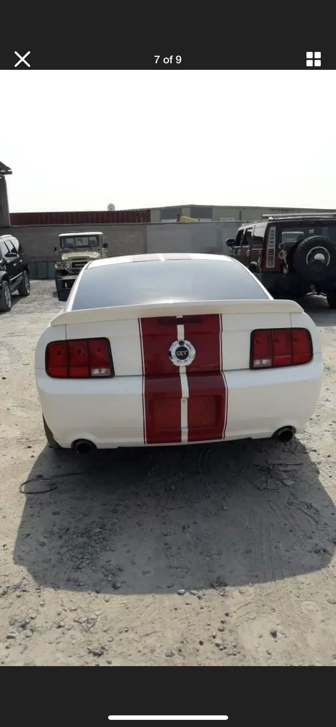 2008 FORD MUSTANG 4.6 V8 GT RARE MANUAL  LHD FRESH IMPORT For Sale (picture 6 of 6)