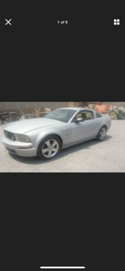 2005 FORD MUSTANG 4.6 V8 GT SILVER LHD FRESH IMPORT
