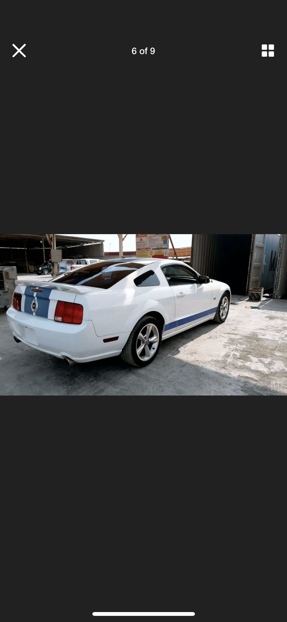 2005 FORD MUSTANG 4.6 V8 GT WHITE LHD FRESH IMPORT For Sale (picture 6 of 6)