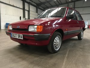 1988 Ford Fiesta L - Low mileage, low owners  For Sale by Auction