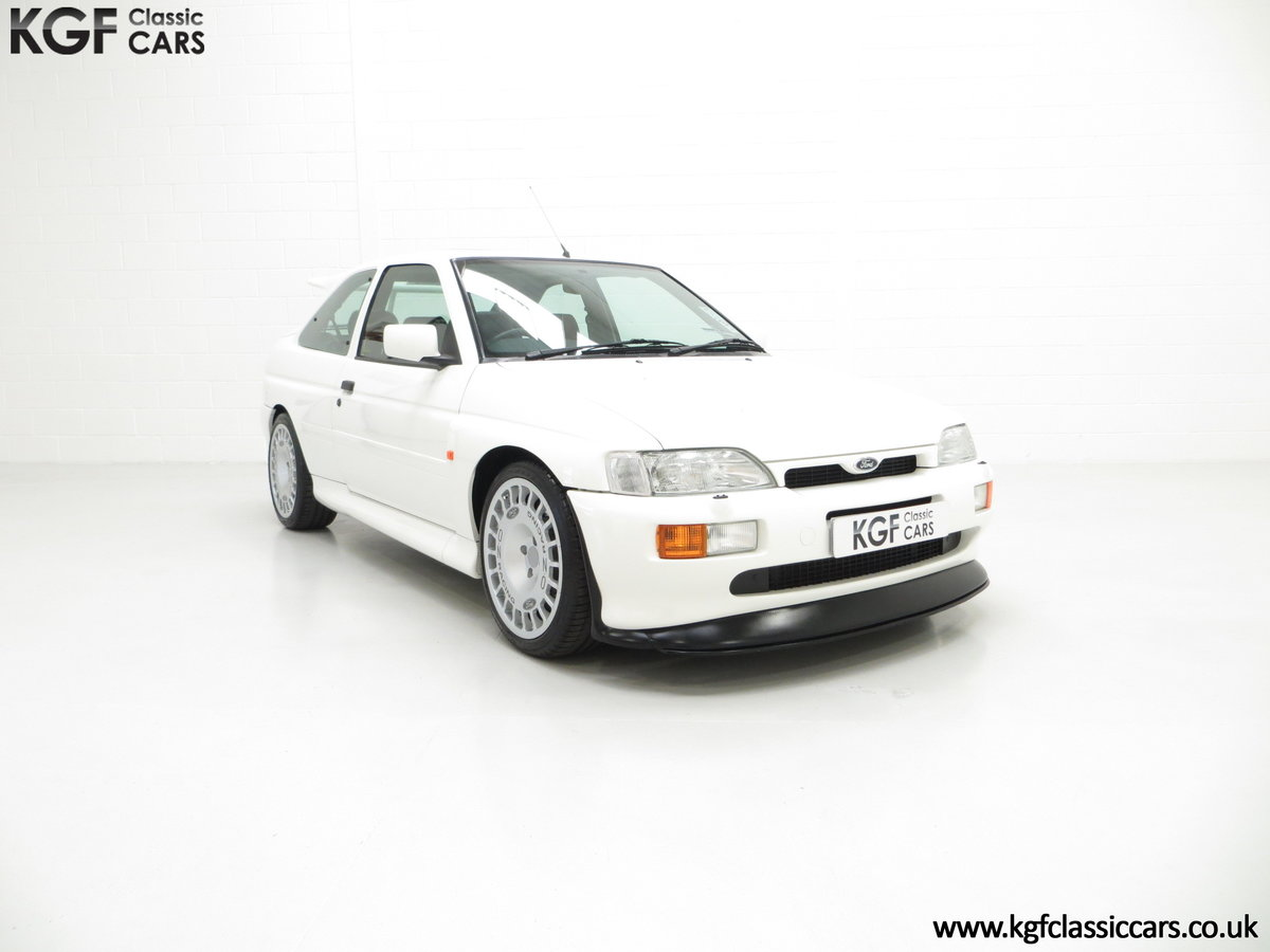1992 A Big Turbo Ford Escort RS Cosworth Luxury with 16,951 Miles SOLD (picture 1 of 24)