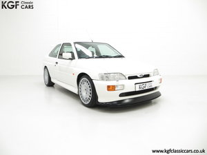 1992 A Big Turbo Ford Escort RS Cosworth Luxury with 16,951 Miles