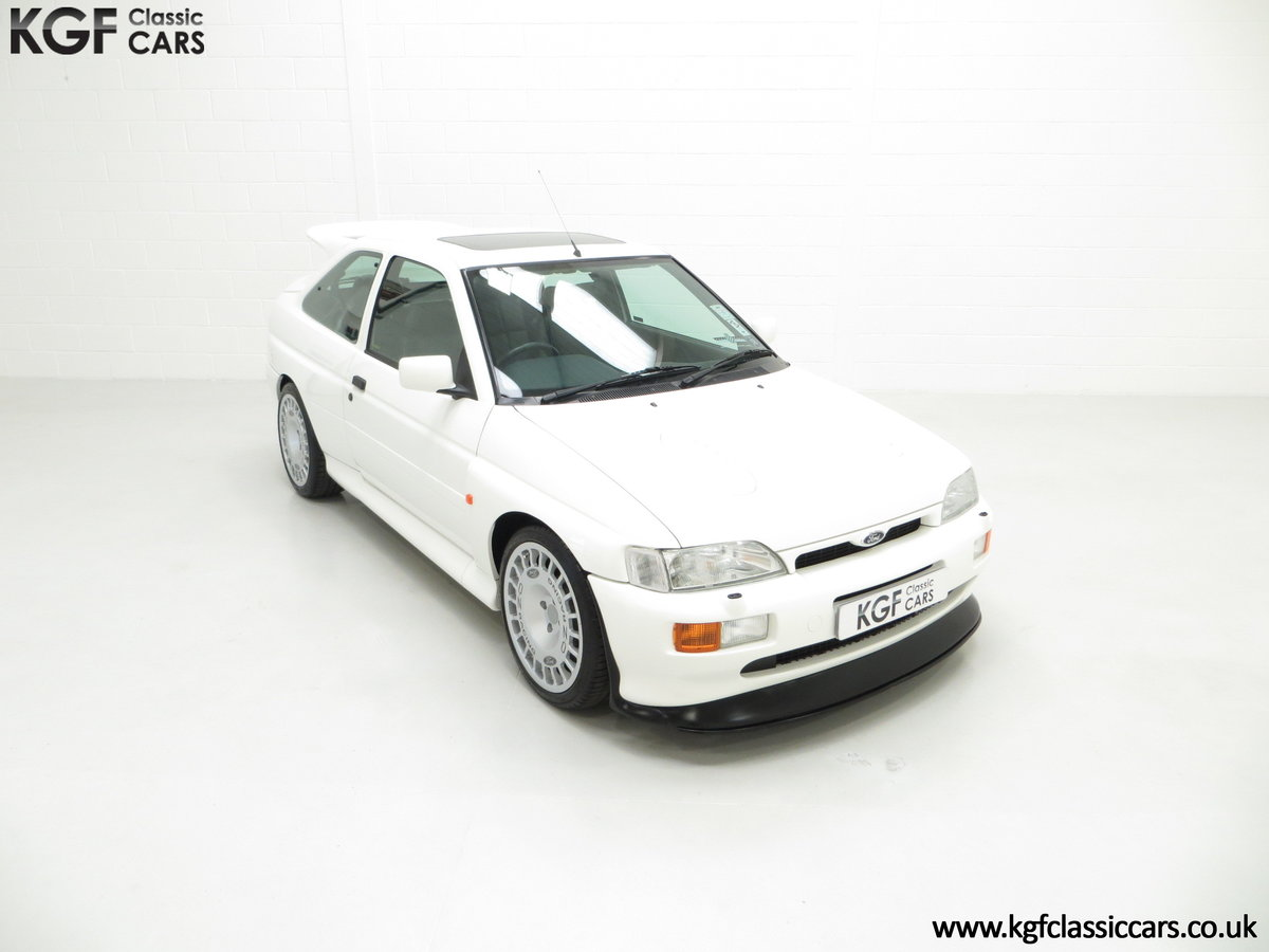 1992 A Big Turbo Ford Escort RS Cosworth Luxury with 16,951 Miles SOLD (picture 2 of 24)